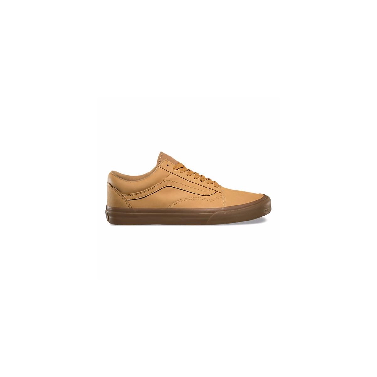 18a78299c65158 Men s Old Skool Vansbuck Camel Sneaker