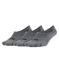 Women's 3-Pack No Show Grey Socks