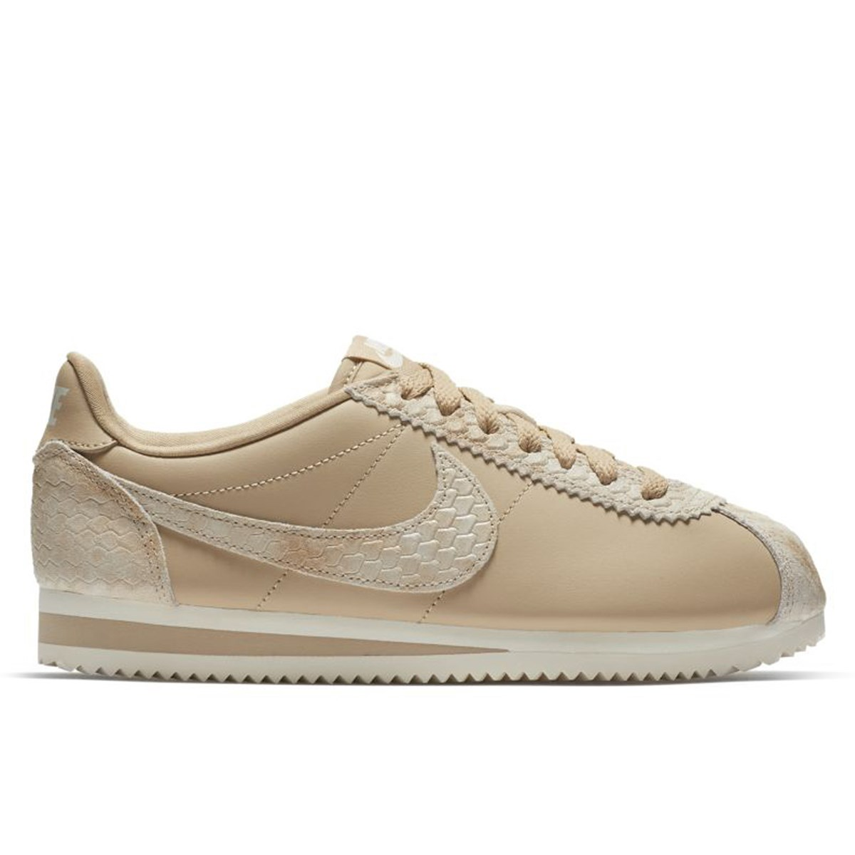 1bc85e1736c6 Women s Classic Cortez Premium Linen Natural Sneaker. Previous. default  view  ALT1