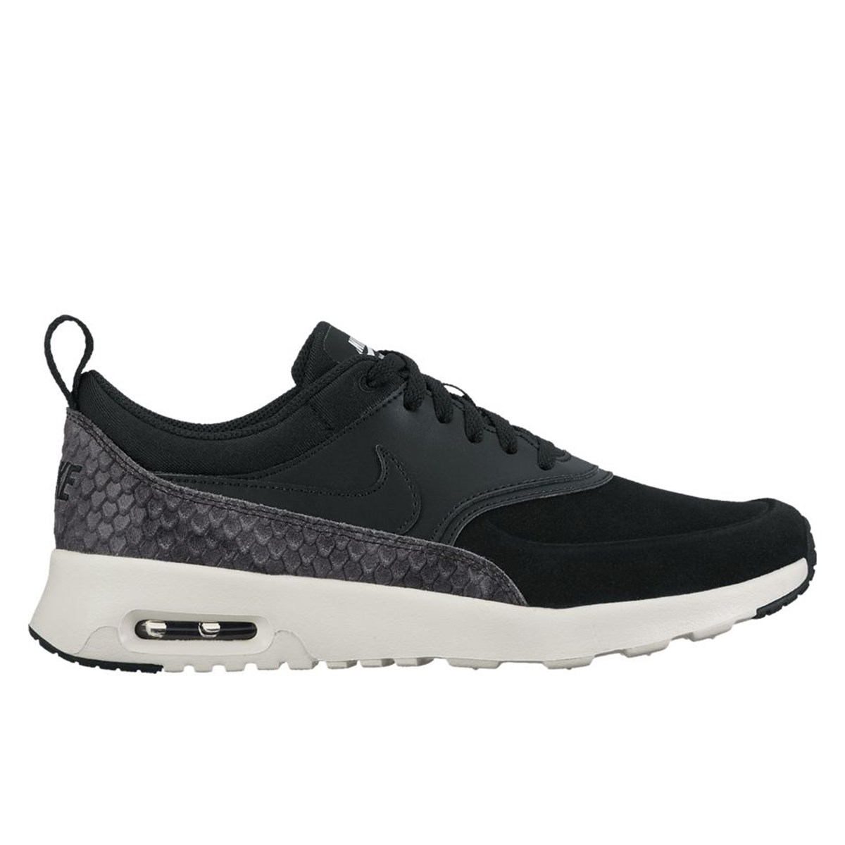 new concept d0f79 a12bf Women s Air Max Thea Premium Black Sneaker. Previous. default view · ALT1