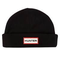 Fleece hat in Black