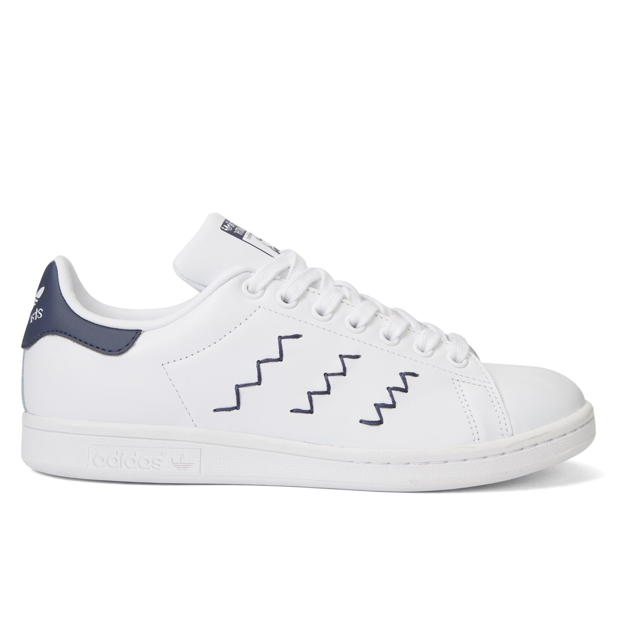 Women s Stan Smith White   Trace Blue Sneaker. Previous. default view   ALT1  ALT2 485cb858f6
