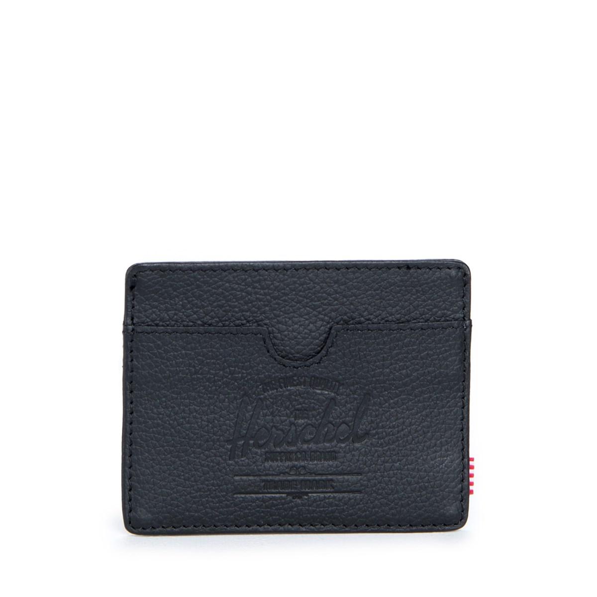 Charlie Black Leather Wallet