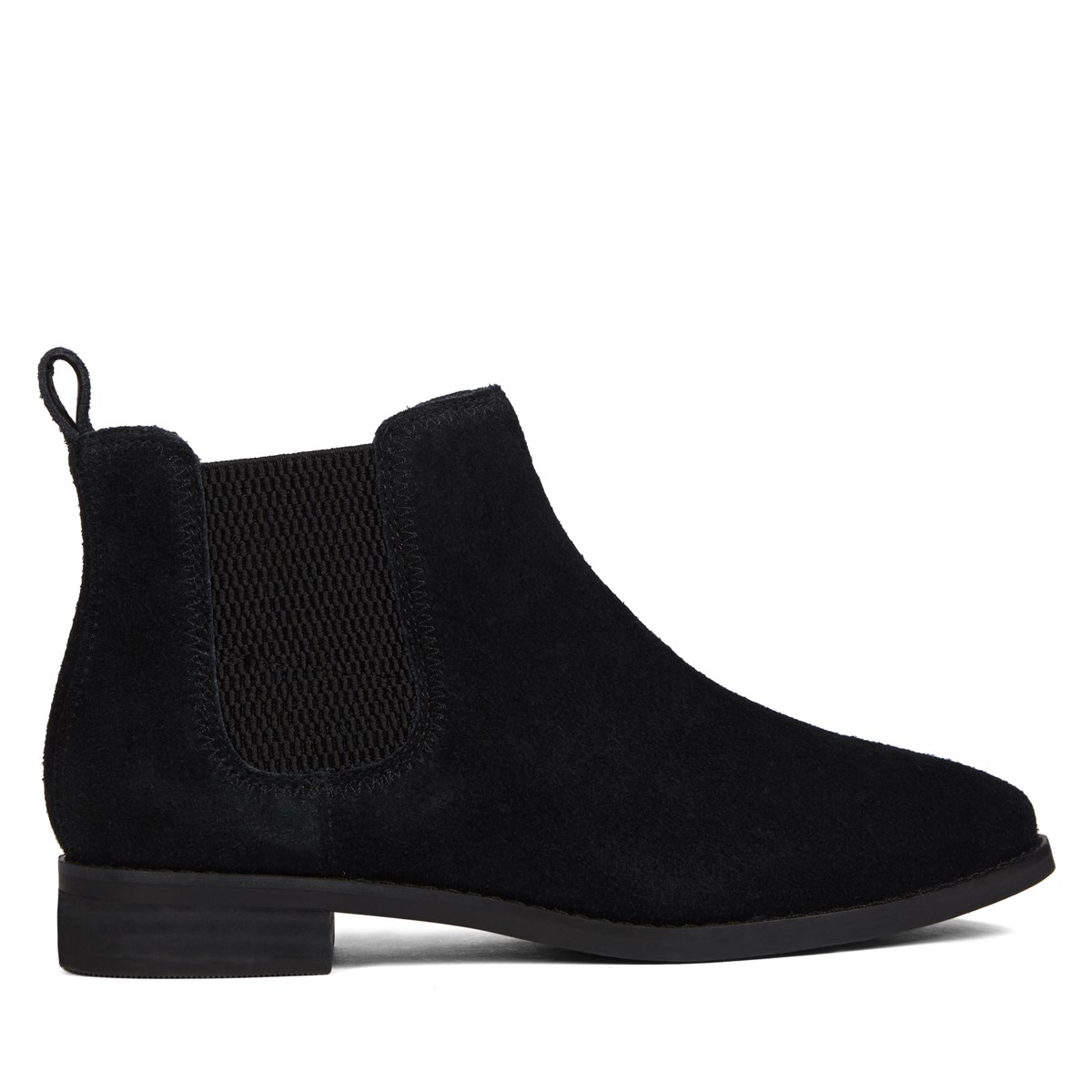 a6c0b18a5cdcb Women s Ella Black Suede Chelsea Boot. Previous. default view · ALT1 · ALT2