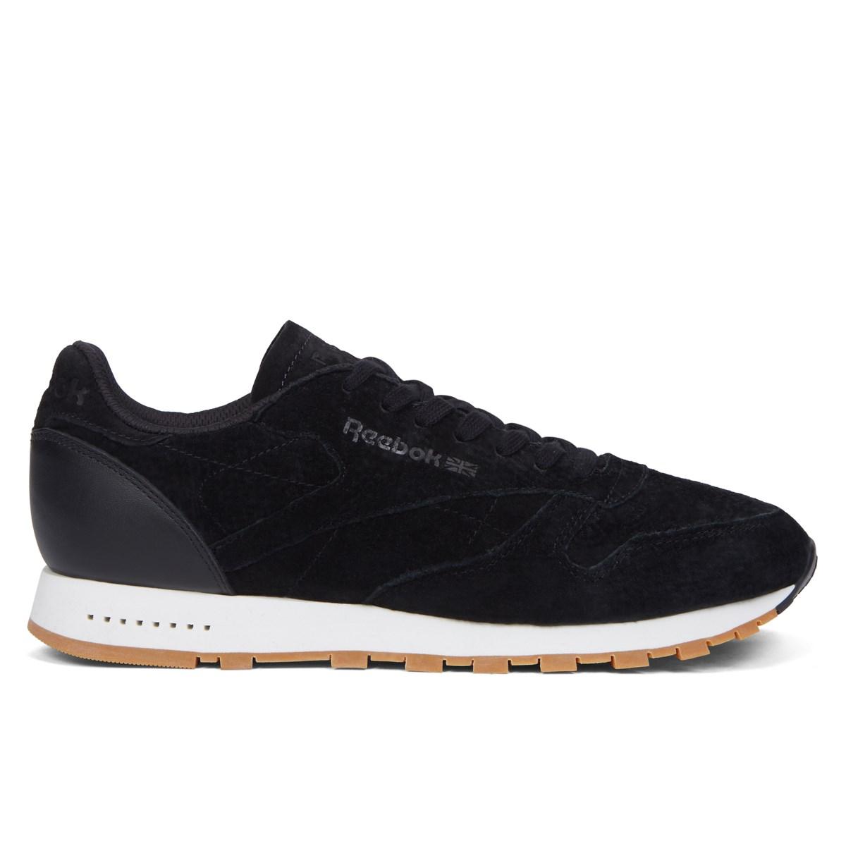 7cb58f01834656 Men s CL Leather SG Black   Gum Sneaker. Previous. default view  ALT1  ALT2