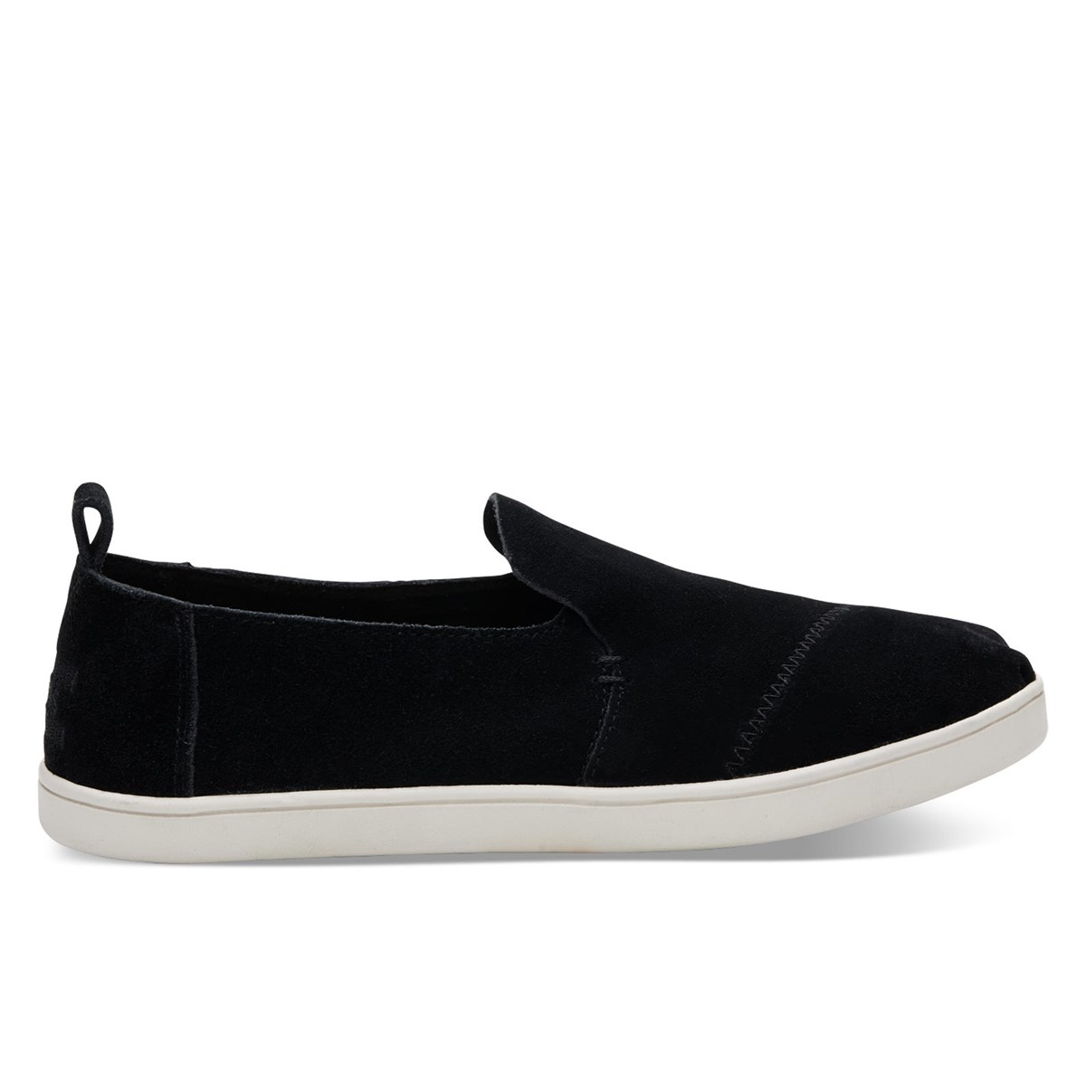 Women's Deconstructed Alpargata Black Slip-On