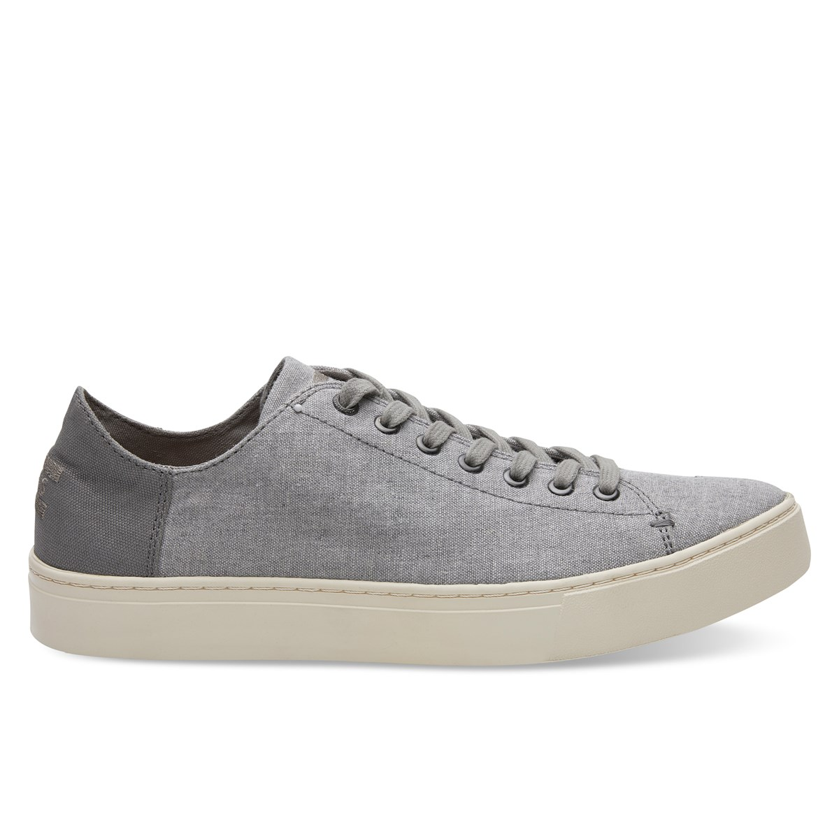 Men's Lenox Chambray Drizzle Grey Sneaker