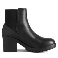 Women's Montroyal Black Ankle Boot