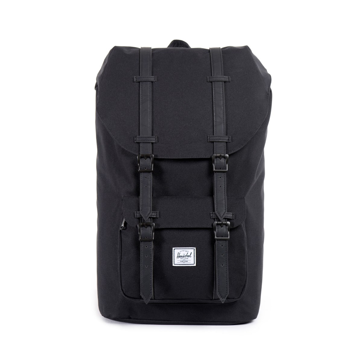 Little America Black Mid Volume Backpack