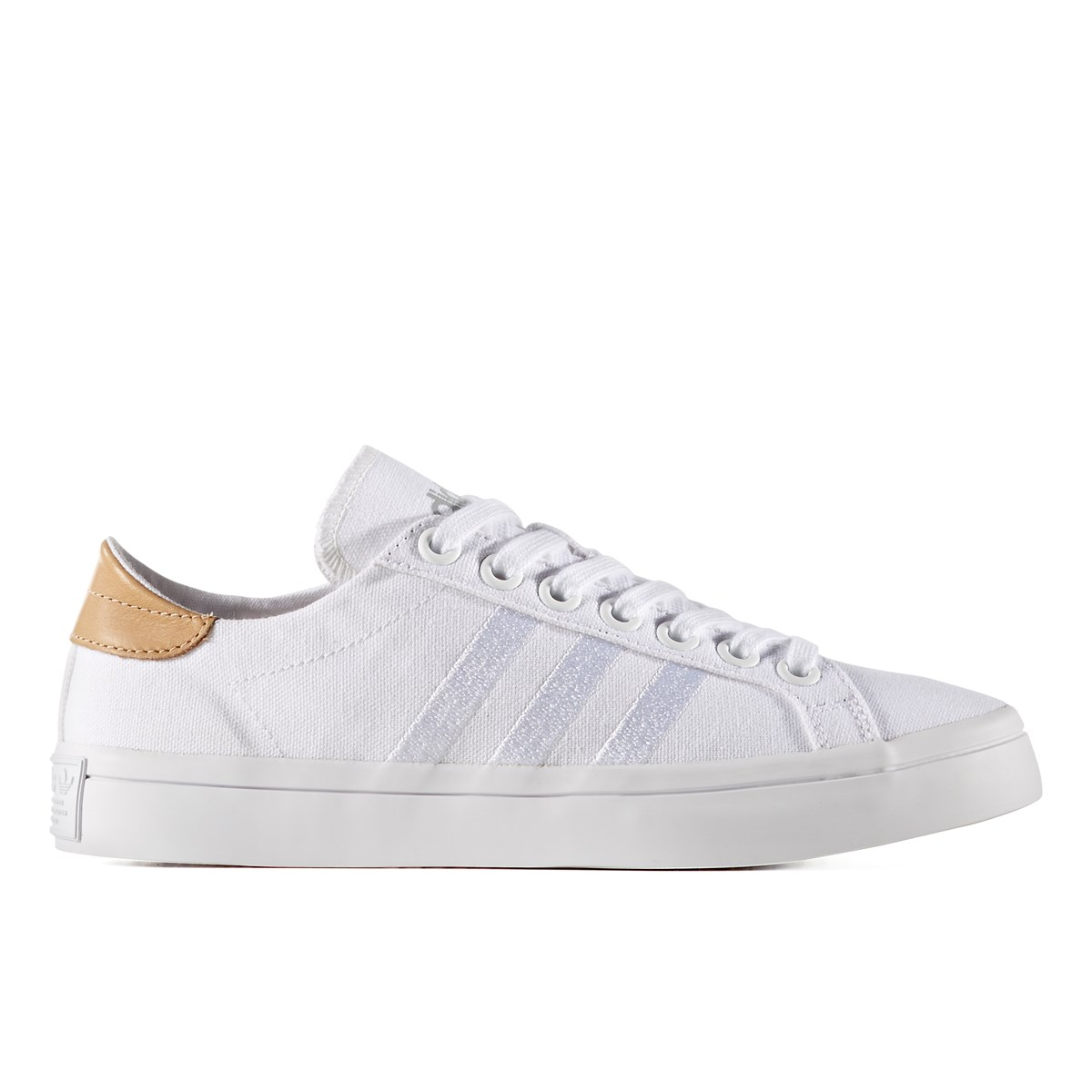 hot sale online e68d0 f44a2 Womens Courtvantage White Sneaker. Previous. default view