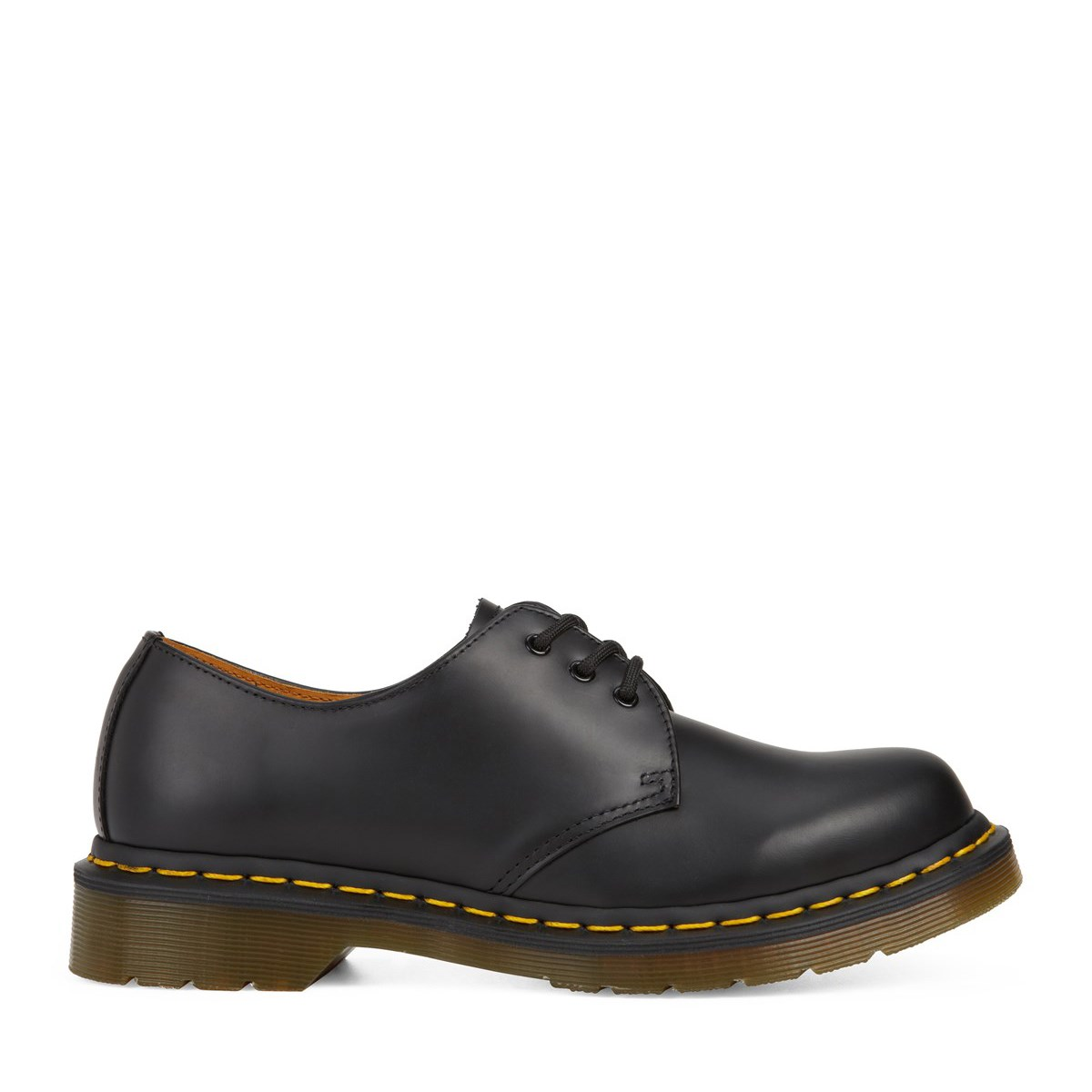 Men's 1461 Smooth Leather Shoes in Black