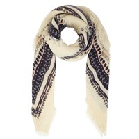 Women's Dina Blue Scarf