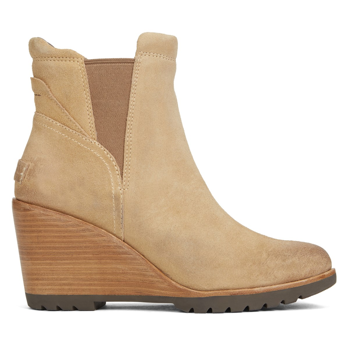 Women S After Hourse Chelsea Suede Camel Boots Little