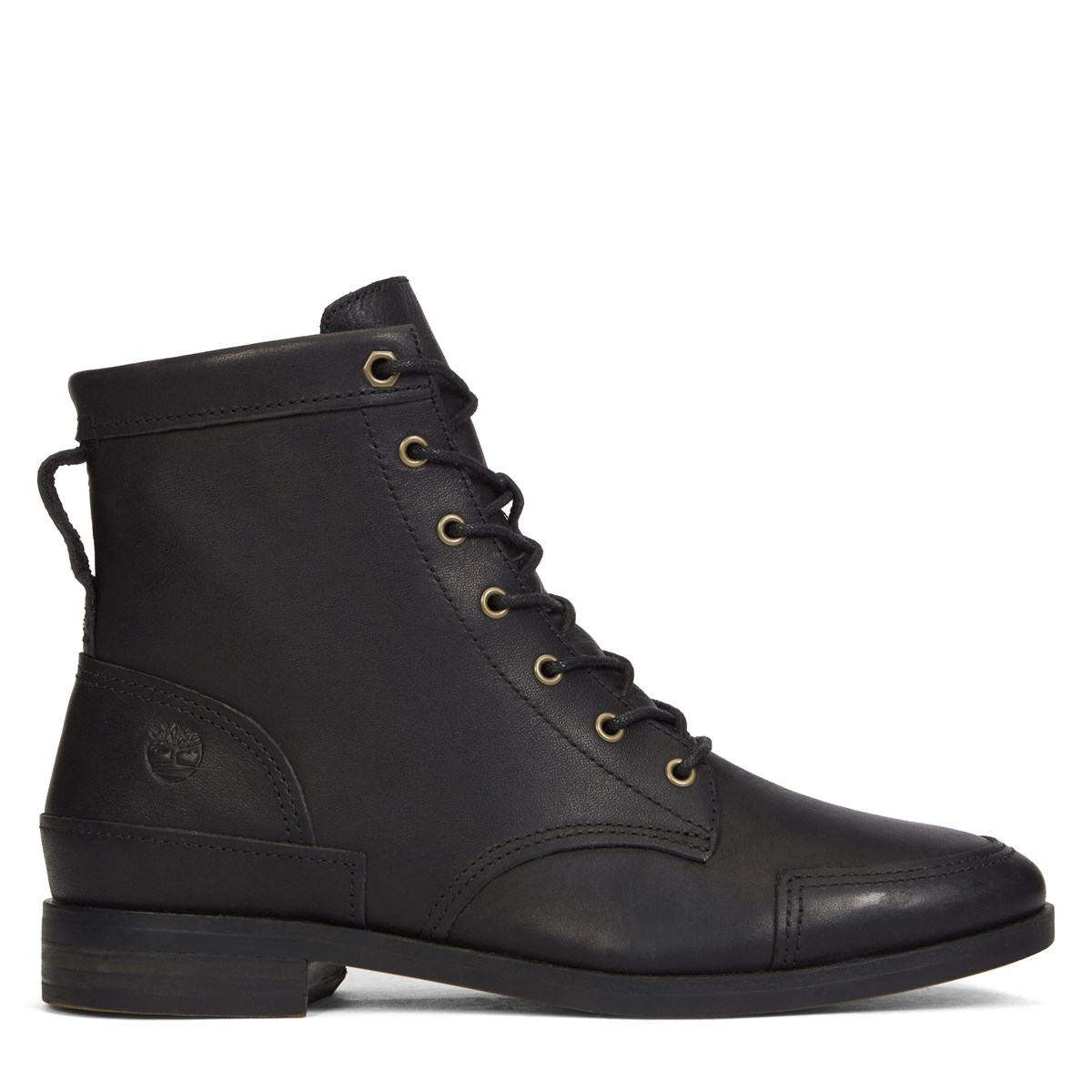 Women's Somers Falls Mid Lace Black Boot