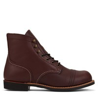 Men's Iron Ranger Vibram Bordeaux Boots
