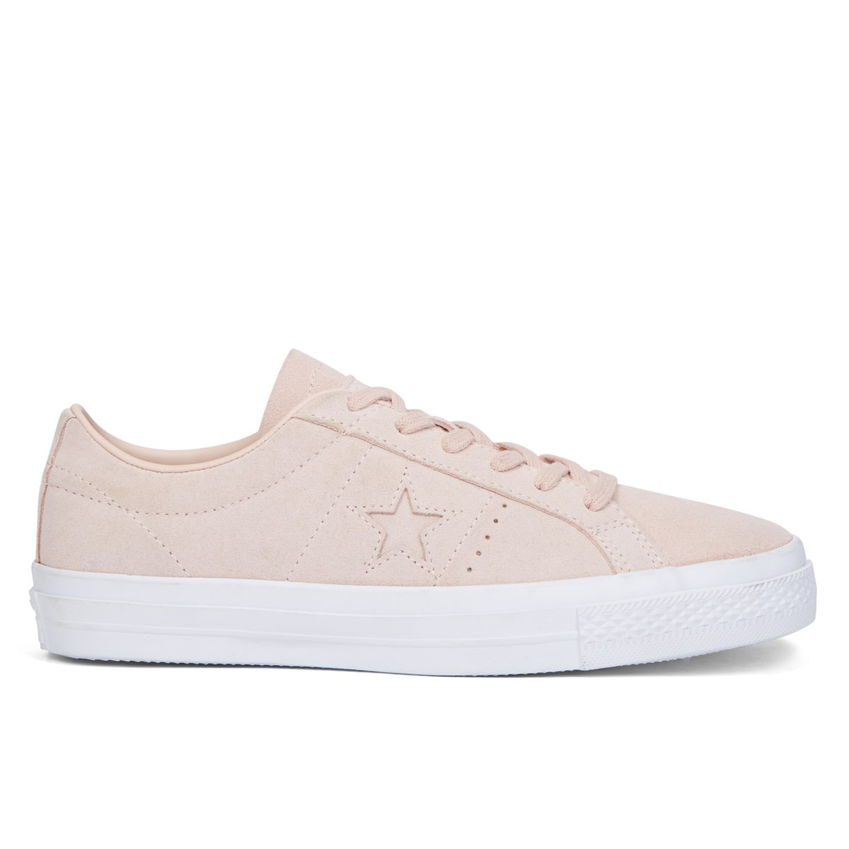 Women's One Star Plush Suede Dusk Pink Sneaker