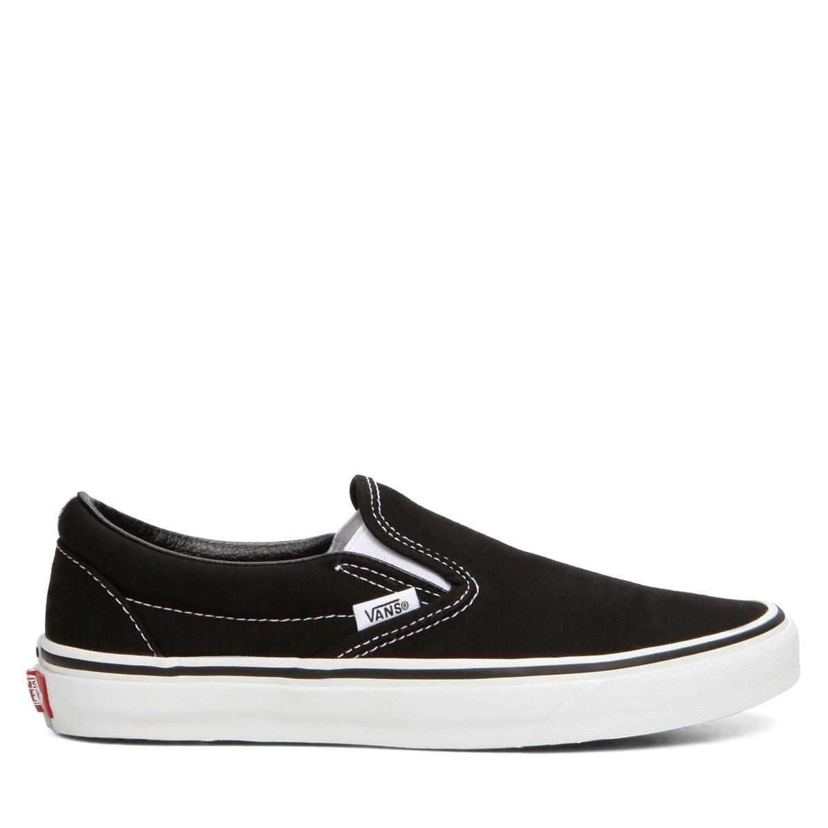 Classic Slip-Ons in Black