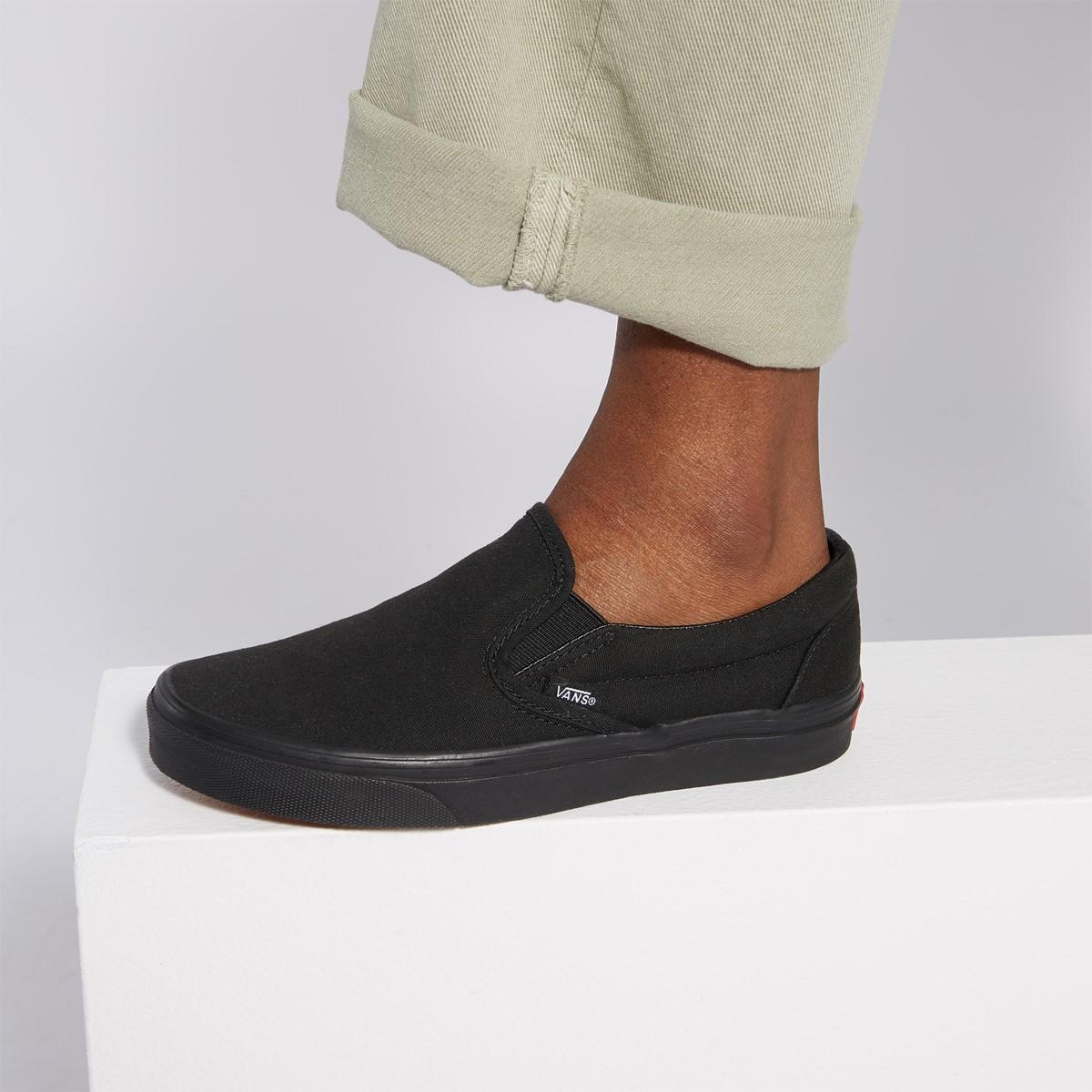 söt hur man köper stor rea Classic Slip-Ons in Black | Little Burgundy