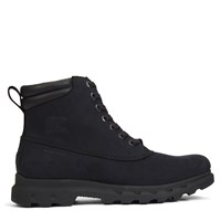 Men's Portzman Lace Boots in Black