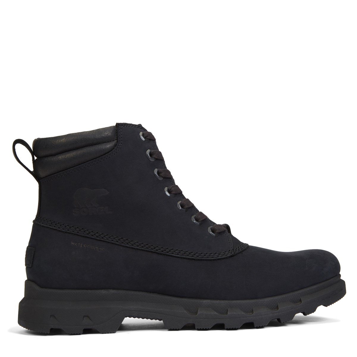 Men's Portzman Lace Black Boot