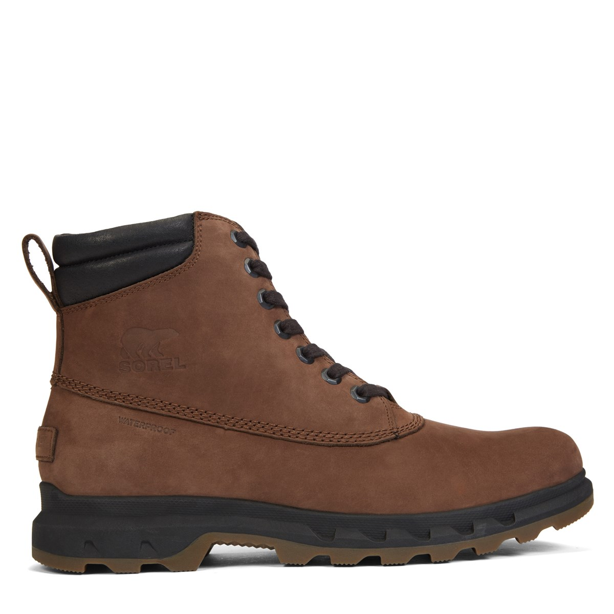 Men's Portzman Lace Boots in Brown