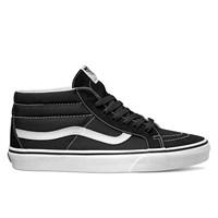 Men's SK8-Mid Reissue Black/White Sneaker