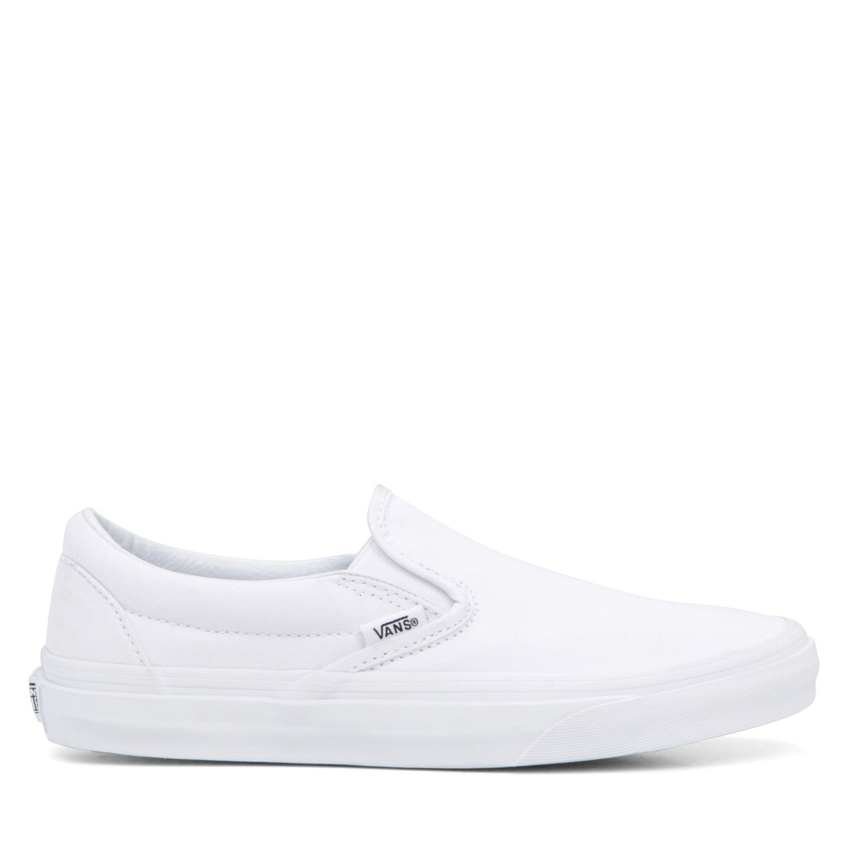 Classic Slip-Ons in White