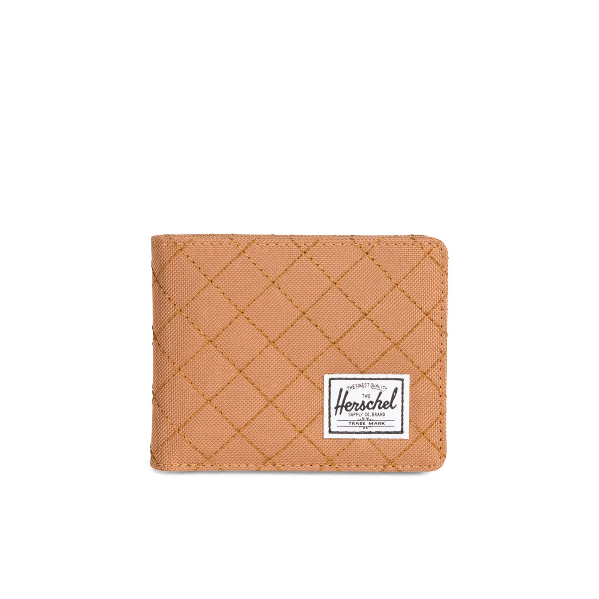 Roy Caramel Quilted Wallet