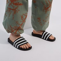 Adilette Slides in Black