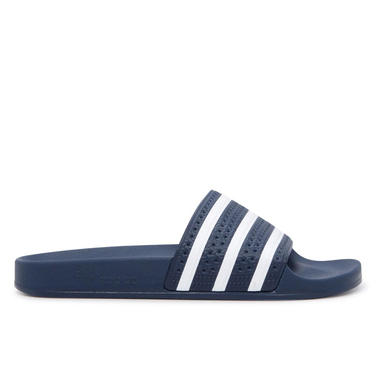 Adilette Blue Slide Sandal
