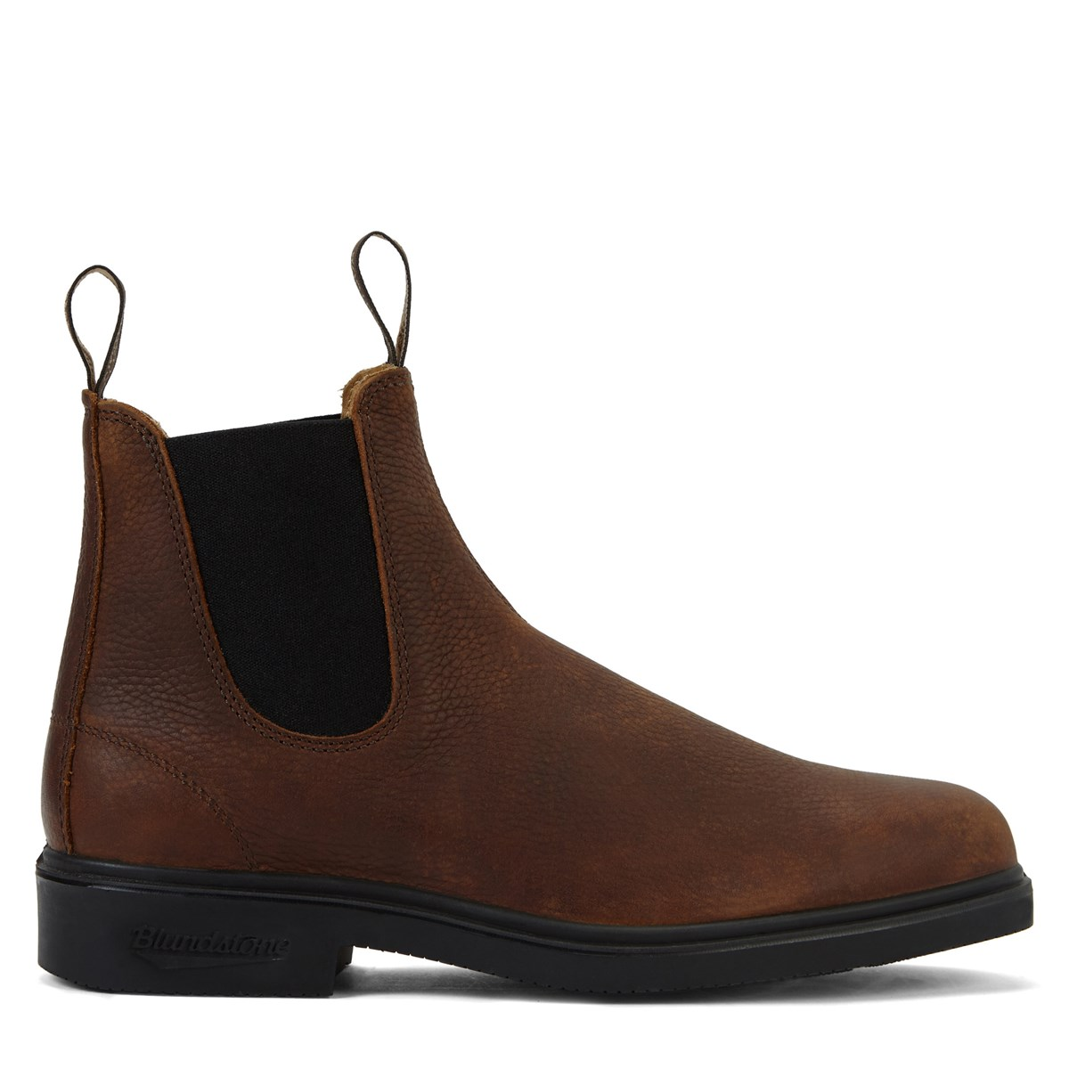 1313 Chisel Toe Chelsea Boots in Brown