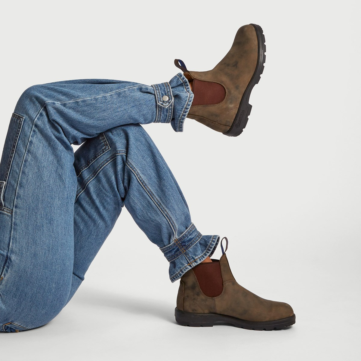 ad15778568d0 585 Leather Lined Chelsea Boots in Brown. Previous. default view · ALT1 ·  ALT2 ...