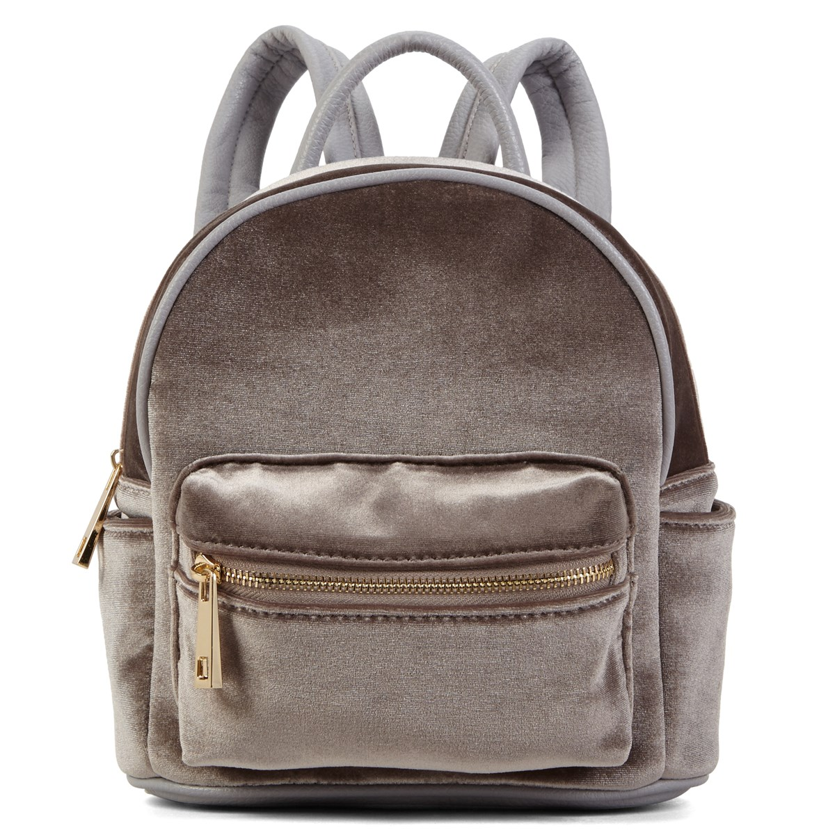 b1639b3704 Women s Grey Velvet Backpack. Previous. default view ...