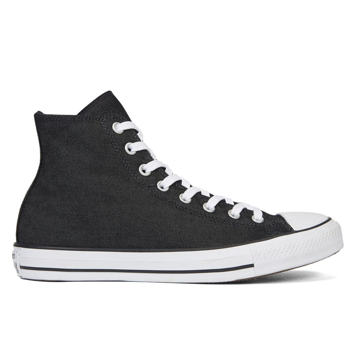 f25bd2c1808520 Men s Chuck Taylor All Star Hi-Top Classic Shield Twill Black Sneaker.  Previous. default view · ALT1 · ALT2