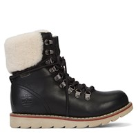 Women's Lethbridge Oil Crazy Black Boots