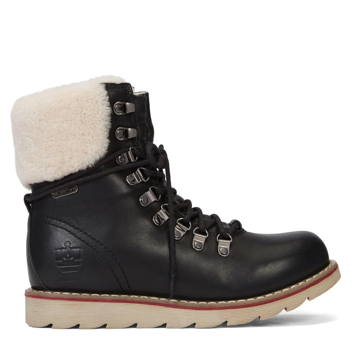Women's Lethbridge Oil Crazy Black Boots