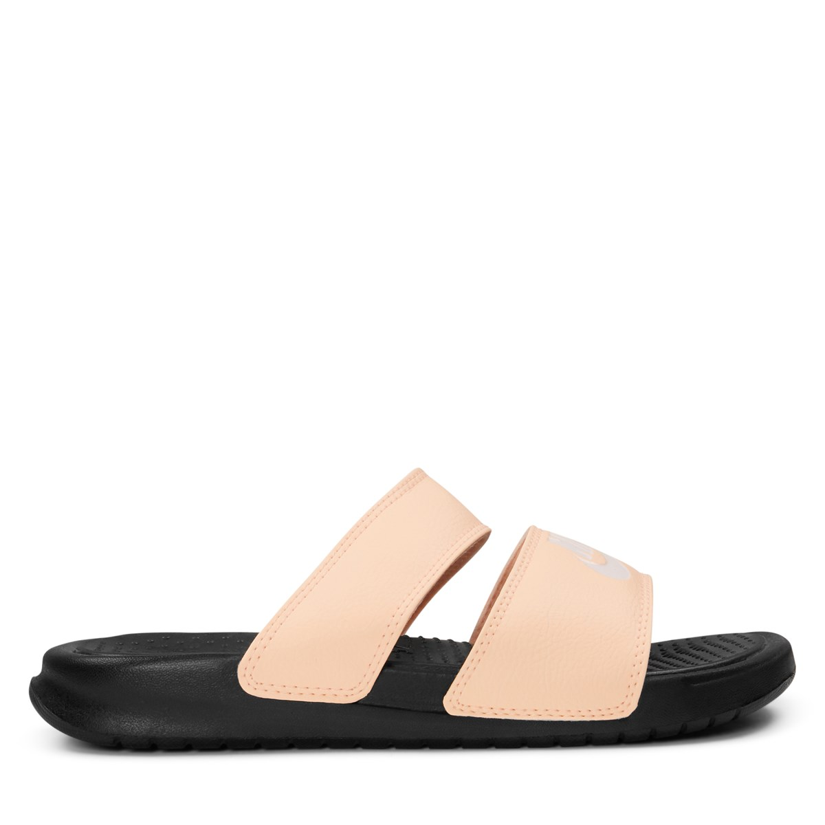 Women s Benassi Duo Ultra Slide Sandal in Pink. Previous. default view ·  ALT1 f5d37c114