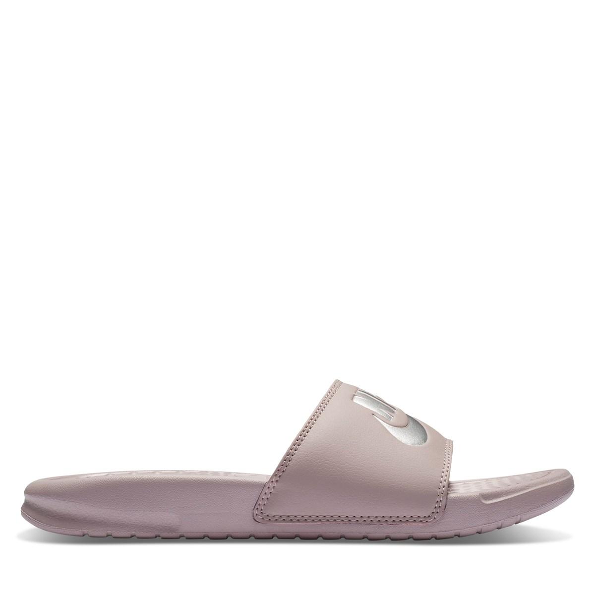 Women's Nike Pink Benassi Slide
