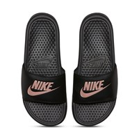 Women's Benassi JDI Slides in Black