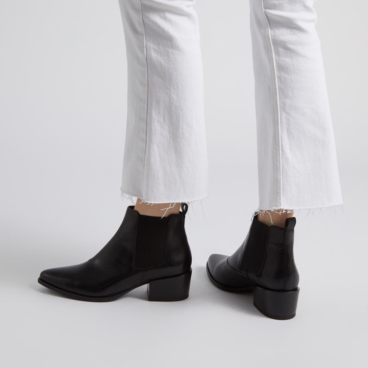 Women's Marja Ankle Boots in Black