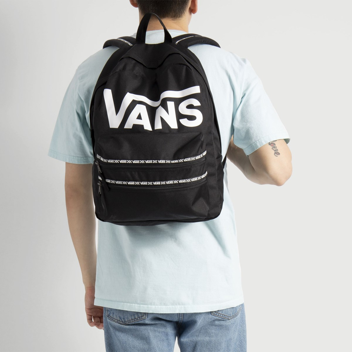 d2a9bddcefaeb8 Sporty Realm II Black Backpack. Previous. default view ...