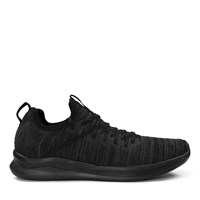 Men's Ignite Flash Evoknit Black Sneaker