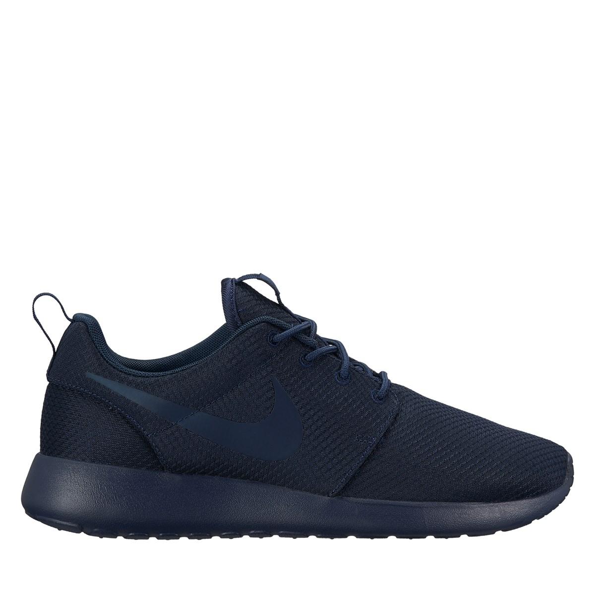 12463c41c181 Men s Roshe One Navy Sneaker