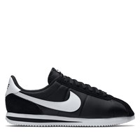 Men's Classic Cortez Nylon Black Sneaker