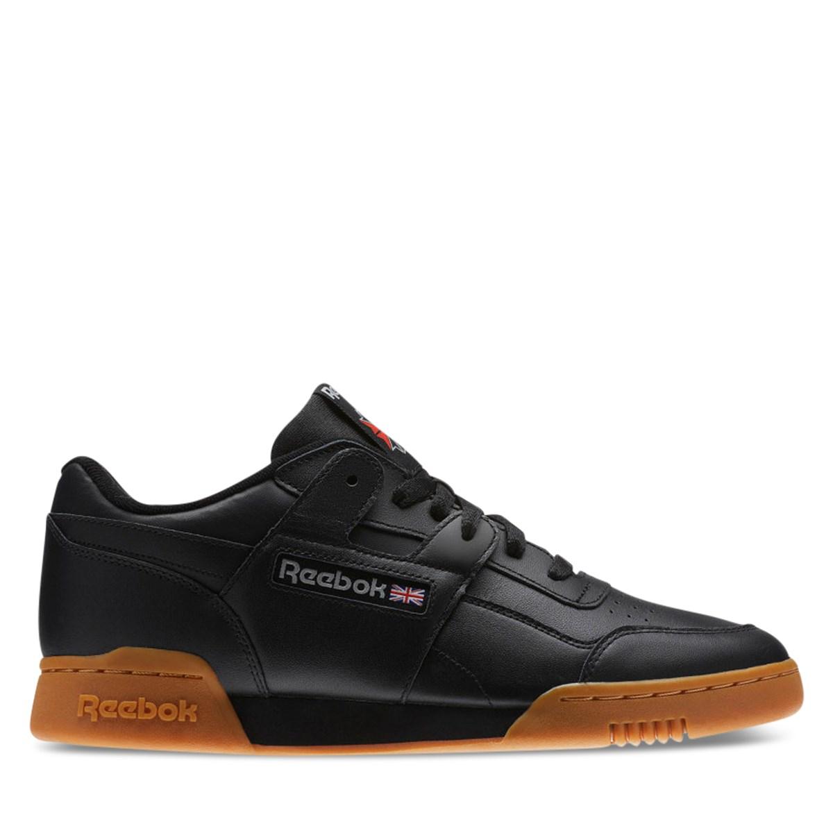 Men's Workout Plus Black Sneaker