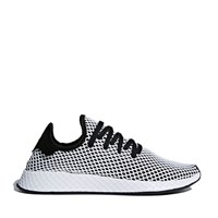 Men's Deerupt Sneaker in Black/ White
