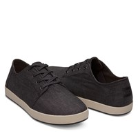 Men's Peyton Vegan Sneakers in Black