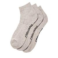 3 paires de chaussettes grises