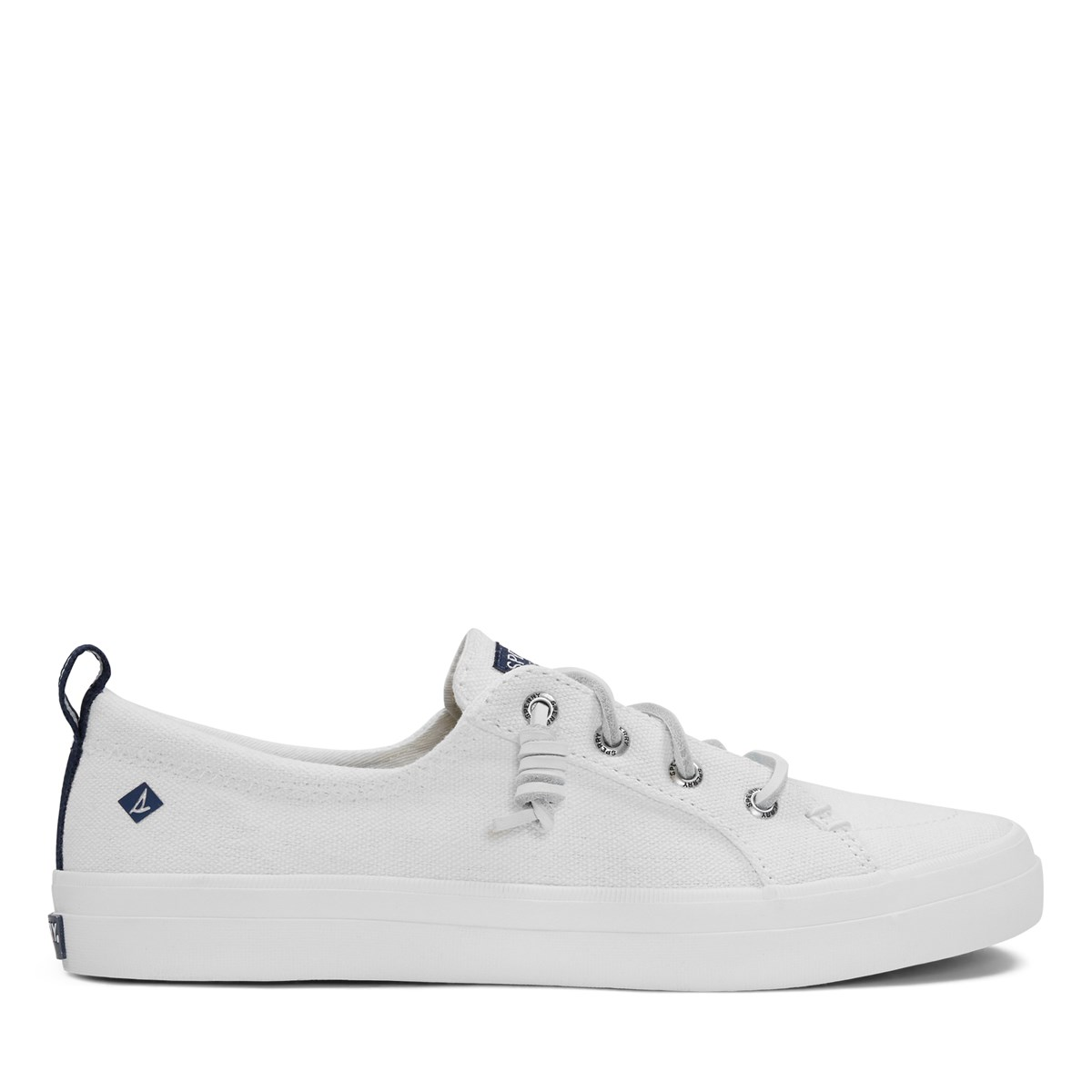 Woman's Crest Vibe Sneakers in White