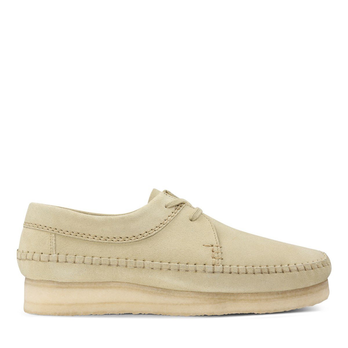 Men's Weaver Suede Shoes in Maple